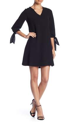 Lafayette 148 New York Kenna 3\u002F4 Sleeve Dress (Petite)