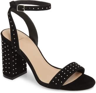 Roxy Black Suede Studio Studded Sandal