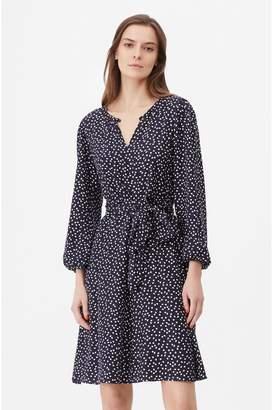 Rebecca Taylor Tailored Pearl Dot Jacquard Dress