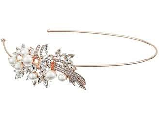 Nina Cai Pearl/Crystal Side Headband