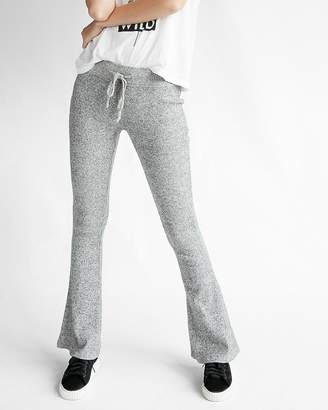Express Mid Rise Ribbed Brushed Lounge Pant