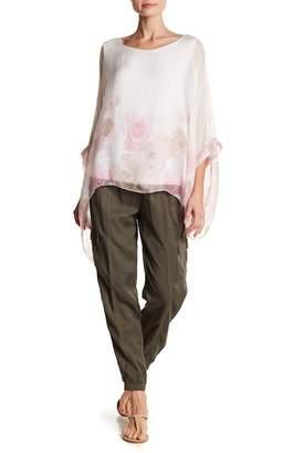 Luma Patterned Silk Blouse