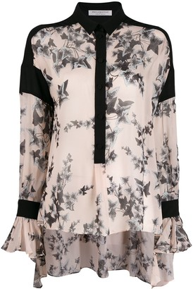 Philosophy di Lorenzo Serafini floral blouse