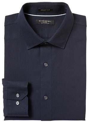 Banana Republic Grant Slim-Fit Non-Iron Stretch Solid Shirt