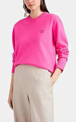 Acne Studios Women's Nalon Wool Crewneck Sweater - Pink