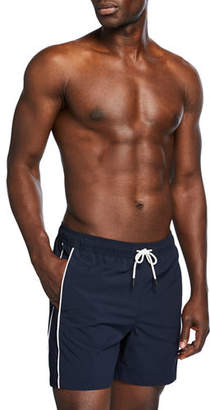 Theory Men's Simulate New Pipe Swim Trunks