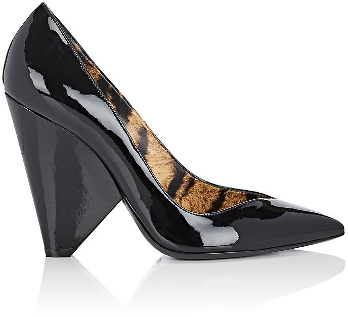 Saint Laurent Women's Niki Patent Leather Pumps