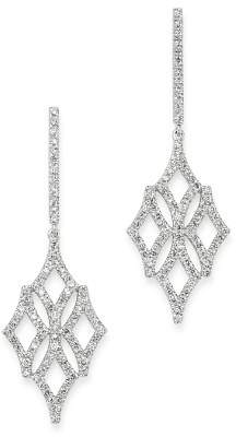 Bloomingdale's Micro-Pavé Diamond Drop Earrings in 14K White Gold, 0.60 ct. t.w. - 100% Exclusive