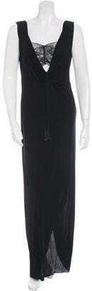 Jean Paul Gaultier Plunge Tassel Embellishment Gown $155 thestylecure.com