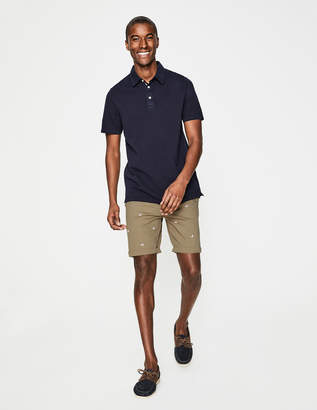Boden Embroidered Chino Shorts