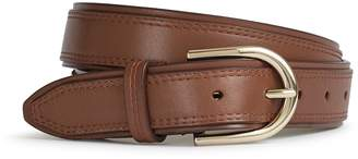 Reiss VIOLA LEATHER BELT Tan