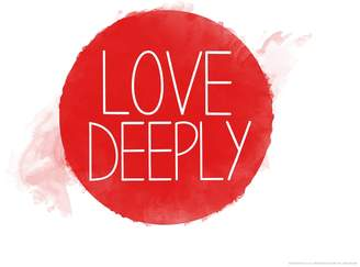 "Art.com Love Deeply"" Wall Art Print"