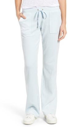 Women's Juicy Couture Del Rey Microterry Track Pants $88 thestylecure.com