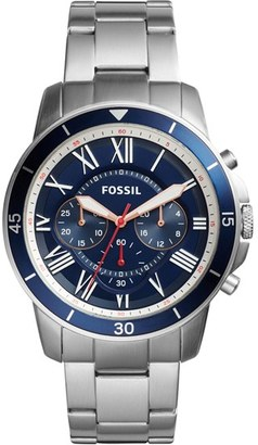 Fossil Grant Sport Chronograph Bracelet Watch, 44Mm $145 thestylecure.com