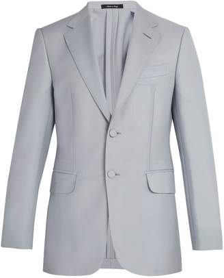 Dunhill Kensington single-breasted wool-blend blazer