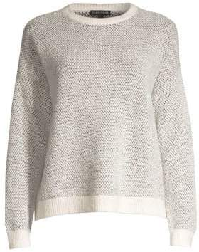 Eileen Fisher Textured Roundneck Sweater