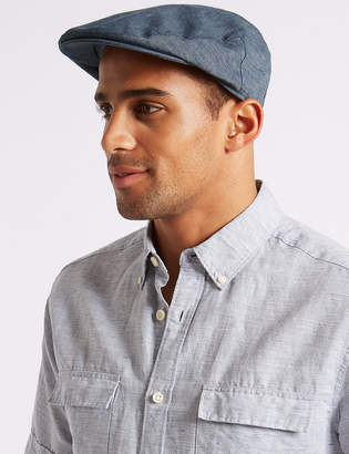 Marks and Spencer Pure Linen Flat Cap