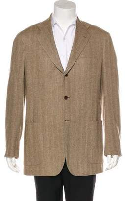 Kiton Cashmere Three-Button Sport Coat