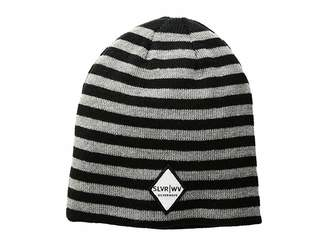 San Diego Hat Company SLW3563 Striped Knit Cap with Patch