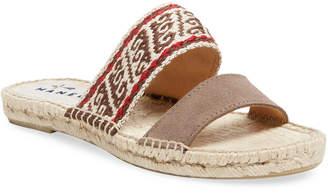 Manebi Double Strap Espadrille Sandal