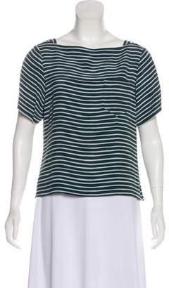 Marc Jacobs Short Sleeve Blouse
