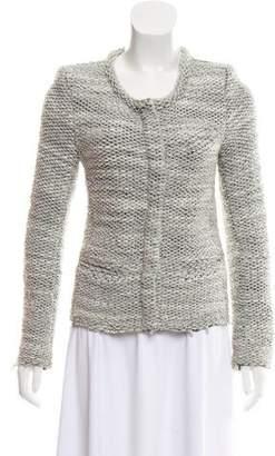 IRO Wool Collarless Blazer