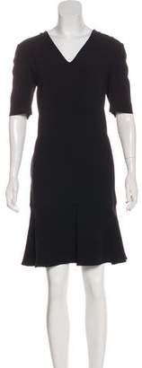 Stella McCartney Ruffled Knee-Length Dress