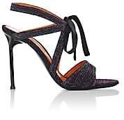Walter De Silva Women's Rita Ankle-Tie Sandals - Purple