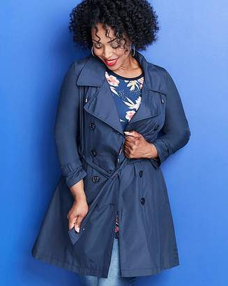 M·A·C Showerproof Hooded Fit and Flare Trench