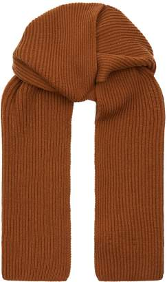 Harrods Ribbed Cashmere Scarf