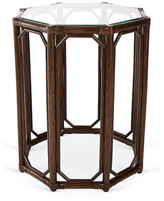 Selamat Short Eloise Octagonal Side Table - Clove
