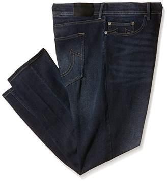 True Religion Men's 1/4 Se Twisted Dean No Flap Slim Jeans,W44/L34