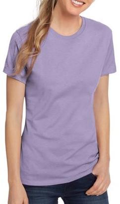 Hanes Women's Lightweight Short Sleeve Scoop neck T-Shirt