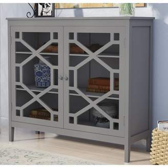 Andover Mills Friedlander 2 Door Large Accent Cabinet