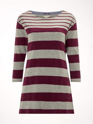 White Stuff Mixed Stripe Jersey Tunic