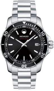 Movado 800 Series Stainless Steel& Aluminum Bracelet Watch
