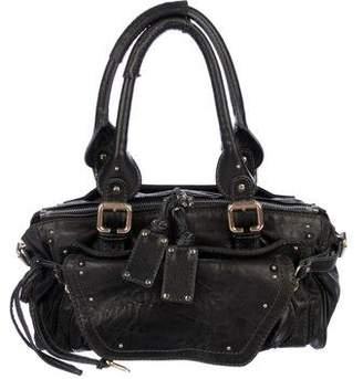Chloé Leather Zip Handle Bag