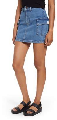 BDG Urban Outfitters Denim Cargo Miniskirt
