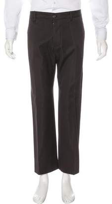 Ann Demeulemeester Twill Flat Front Pants