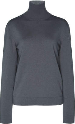 Agnona Eternals Tubular Cashmere Turtleneck Sweater