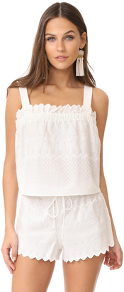 Red Carter Cetera Top $125 thestylecure.com