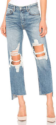 GRLFRND Helena High-Rise Straight Jean.
