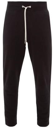 Rag & Bone Cotton Jersey Track Pants - Mens - Black