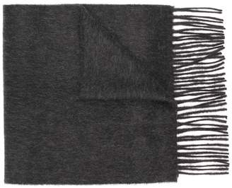 Pringle fringed knitted scarf