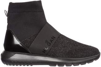 Hogan High-Top Sock Sneakers