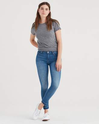 7 For All Mankind The Ankle Skinny with Extreme Fray Hem in Heritage Artwalk