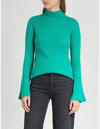 Sandro Estelle knitted jumper