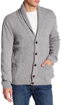 Benson Varsity Shawl Collar Cardigan