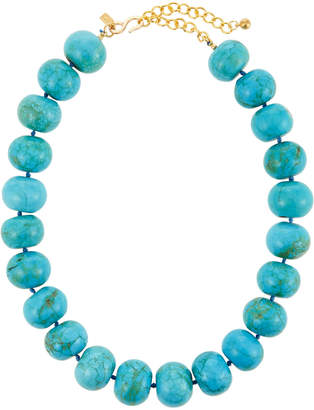 Kenneth Jay Lane Turquoise Bead Necklace