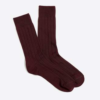 J.Crew Solid color socks